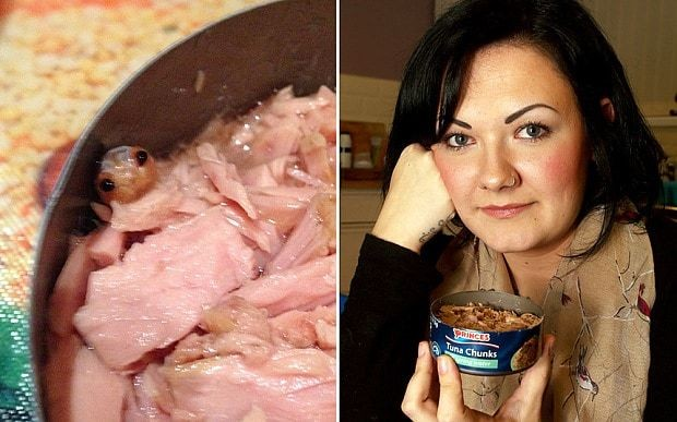 Mystery tuna creature is tongue-eating parasite, says expert