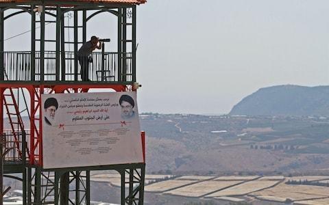 Hizbollah 'shoots down Israeli drone' inside Lebanon amid rising tensions