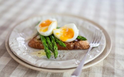 Celebrate the British asparagus season with Borough Market's bruschetta and tortellini dishes