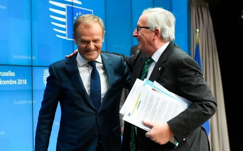 Brexit latest: EU leaders reject Theresa May's pleas on Irish backstop