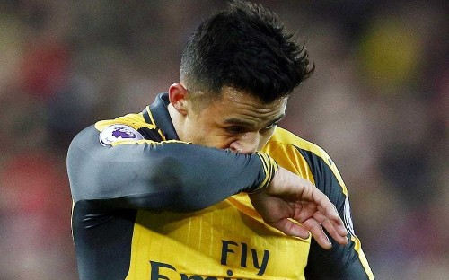 Exclusive: Alexis Sanchez in furious bust-up with angry Arsenal team-mates as PSG lead race to sign him