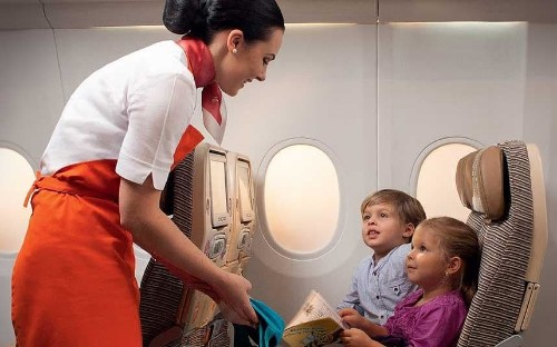 Etihad to introduce 'flying nannies'