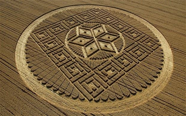 Crop circles demystified: how the patterns are created