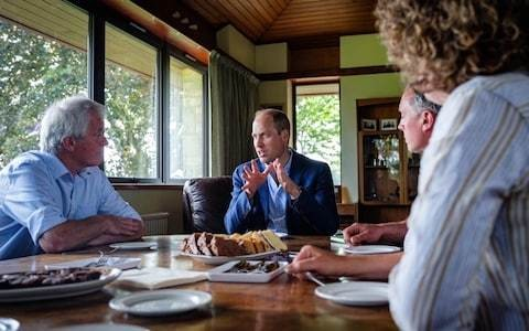 Prince William on making his mark on father's Duchy of Cornwall legacy: 'I'll never know as much as he does, but I'll try my best'