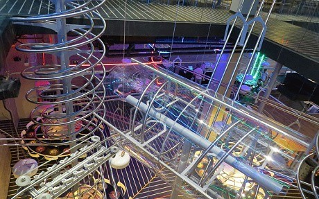 Watch: the German rollercoaster restaurant