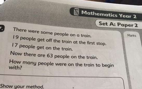 Can you solve the 'simple' maths exam question confusing adults?