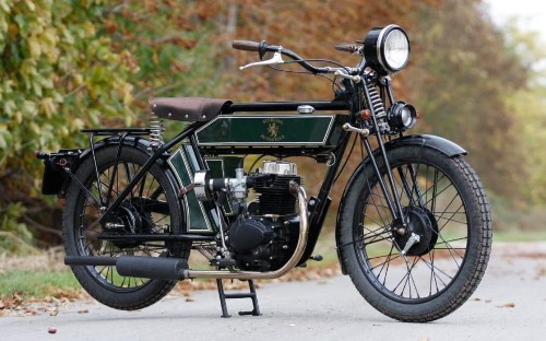The Black Douglas Sterling – a classic motorcycle with a very modern heart