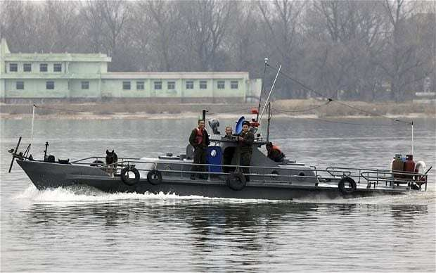American man arrested trying to swim to North Korea