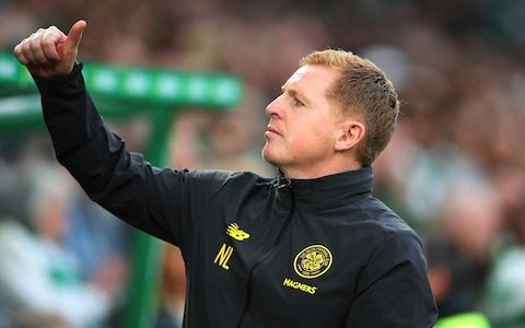 Neil Lennon replies to the 'hysteria' following Celtic's European defeat and says he has the makings of a very good team
