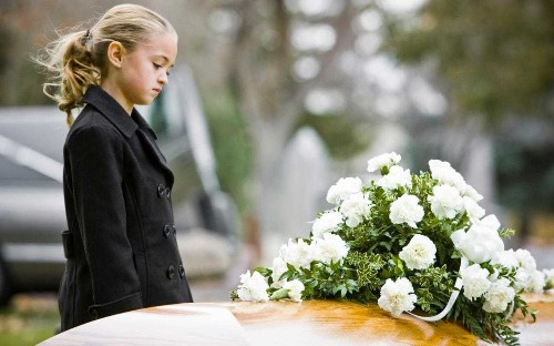 Is it OK to take a young child to a funeral?
