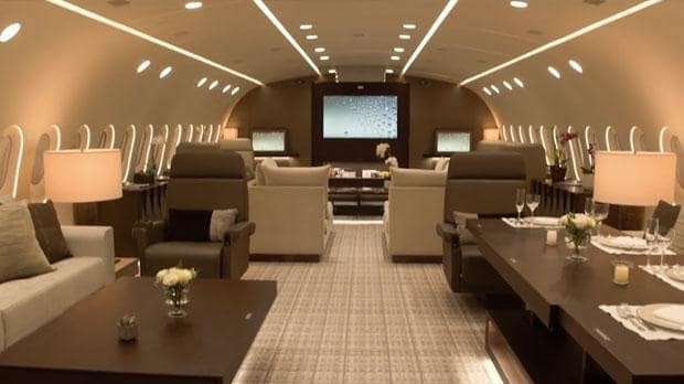 Is this the world's best private jet? The Boeing 787 that's an airborne penthouse apartment