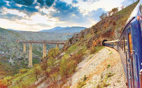 Balkans train journeys: travels with Tito