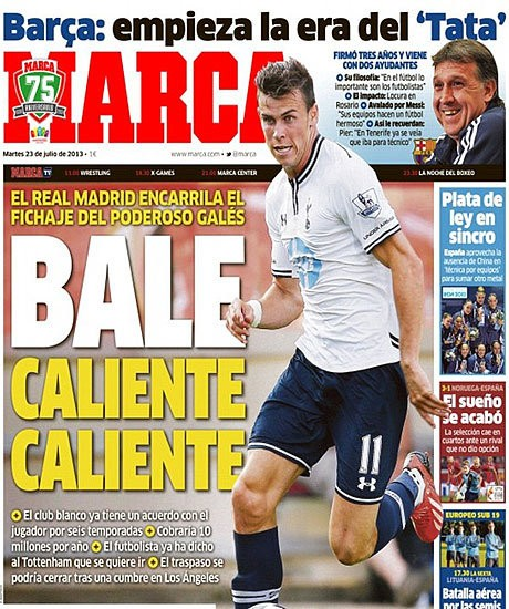 Gareth Bale tells Tottenham he wants to leave and agrees deal with Real Madrid, according to Spanish reports