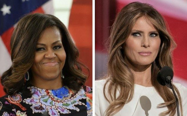 Michelle versus Melania: Who said it?