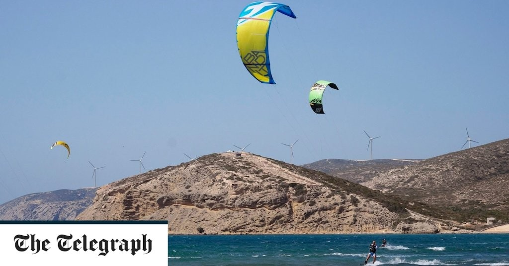 Two British teenagers killed in parasailing incident on Greek island Rhodes