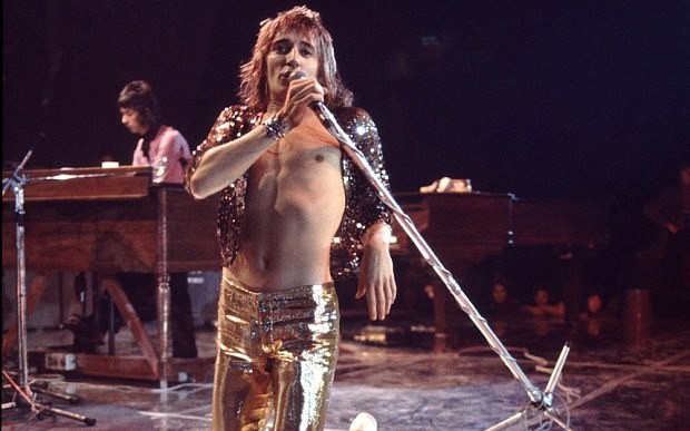 Why Rod Stewart stopped wearing tight trousers