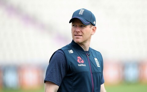England captain Eoin Morgan has X-ray on injured finger