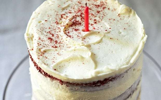 Grandma Ptak's red velvet cake recipe