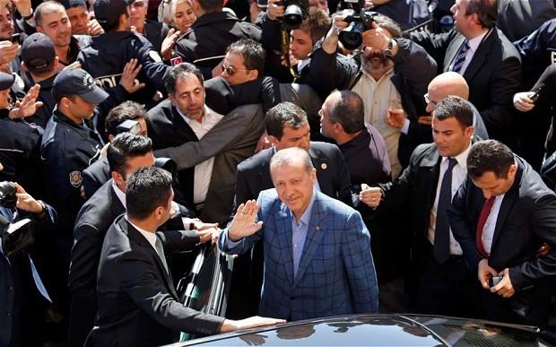 Turkey elections: PM Recep Tayyip Erdogan claims victory