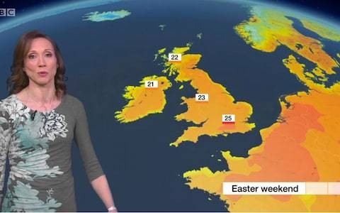 Britain, you call this an Easter bank holiday heatwave...?
