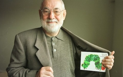 Eric Carle on creating The Very Hungry Caterpillar: 'I wanted to call it Willi the Worm...'