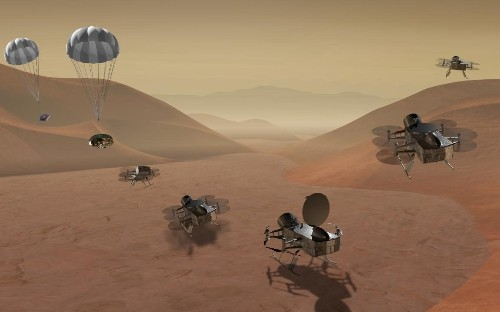 Nasa funds helicopter mission to hunt for alien life on Titan