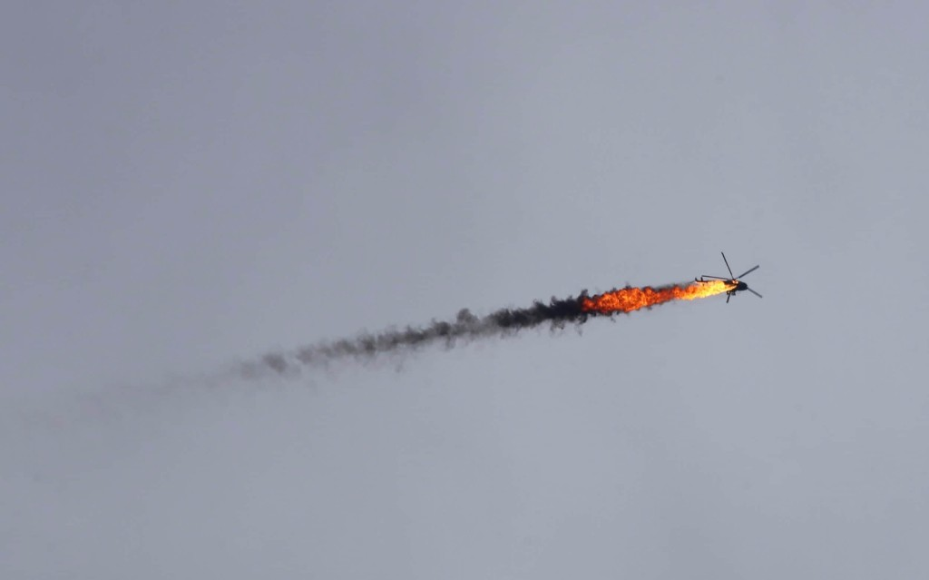 Syrian rebels 'used sophisticated surface-to-air missile' to shoot down Assad regime helicopter