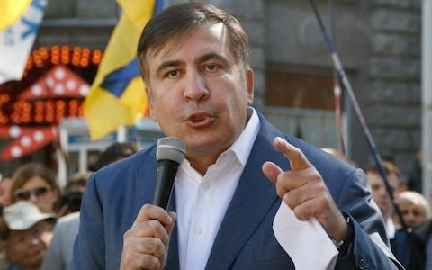 Ukraine will break up unless government fights corruption, Saakashvili warns