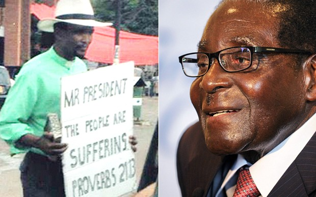 Zimbabwean pastor released after Mugabe protest