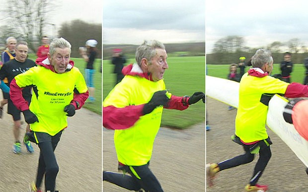 Former Olympian runs a mile a day for 50 years