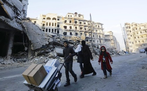 Finally there is hope for peace in Syria. Now let's concentrate on fighting Isil