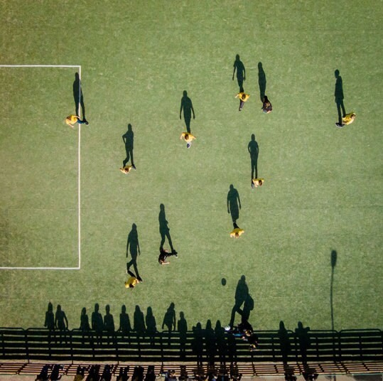 Standing in the shadows: Drone photography by Karolis Janulis - Telegraph