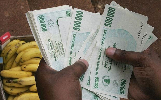Zimbabweans given just £3.25 for life savings by bankrupt government