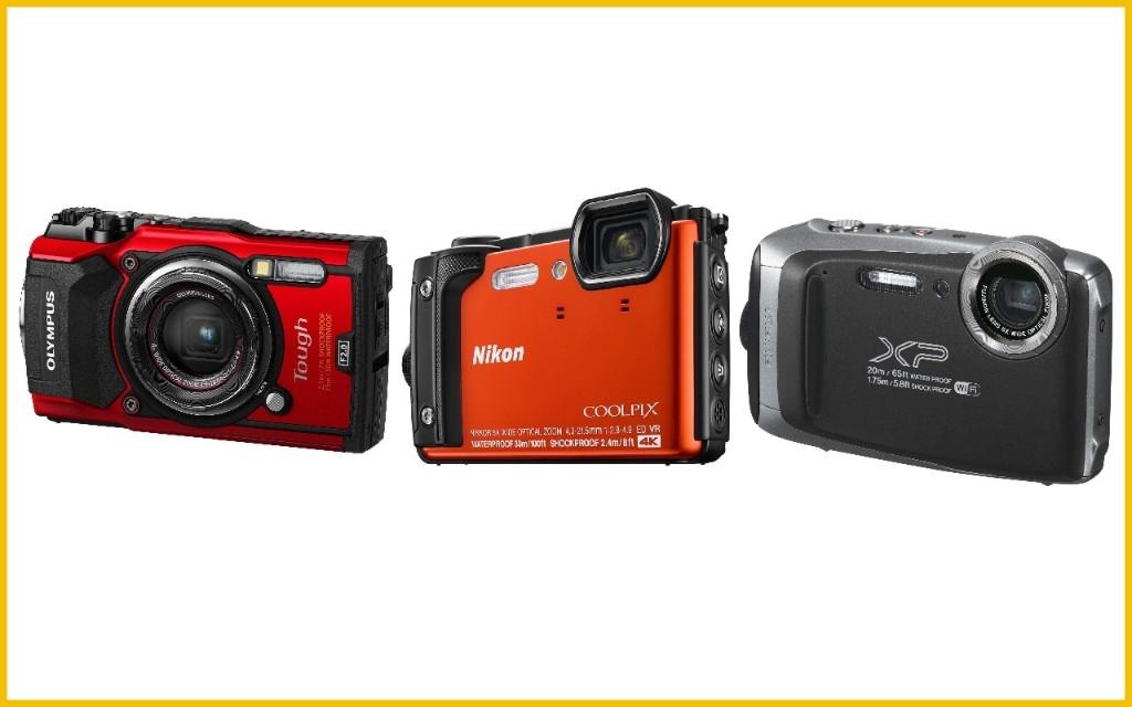 The best waterproof cameras for underwater shooting