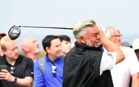 Portrush local Darren Clarke bows out in distraught silence after failing to make Open cut