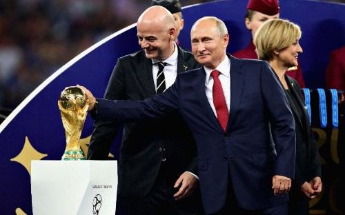 Putin says Russia targeted by almost 25 million cyber-attacks during World Cup