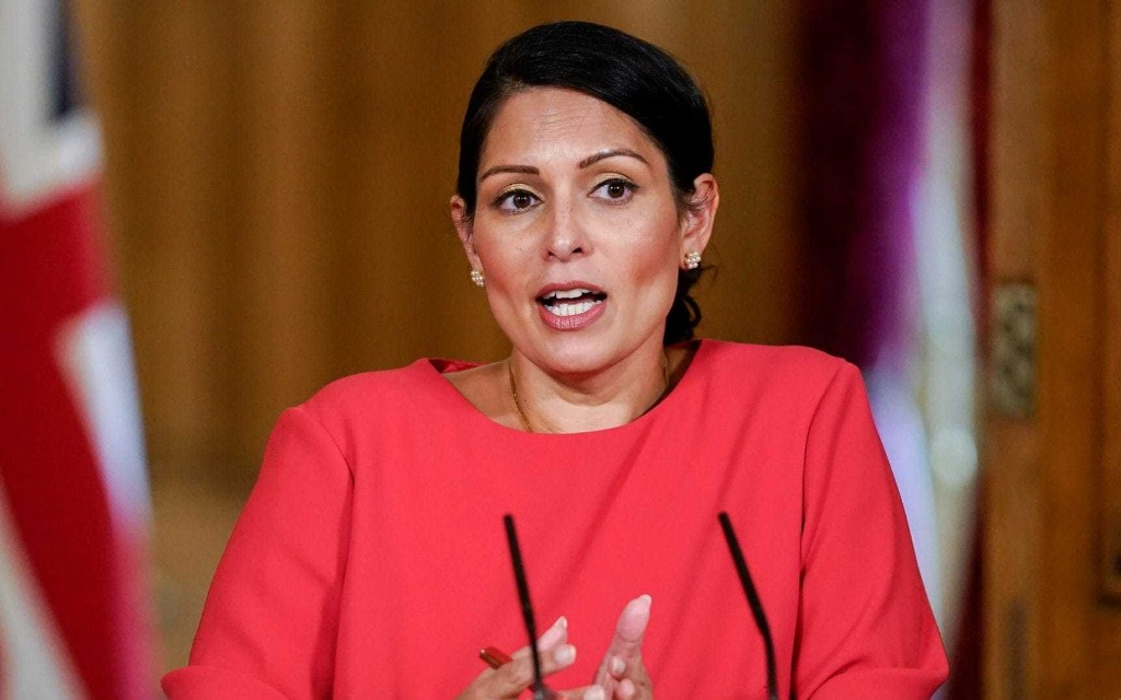Priti Patel: 'We owe it to the victims of Covid-19 to impose quarantine'