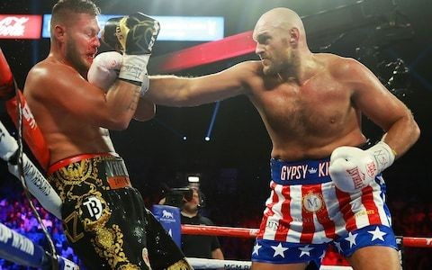 Tyson Fury eyes 'richest fight in boxing history' against Deontay Wilder after ruthless stoppage of Tom Schwarz