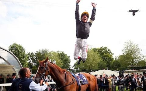 Frankie Dettori on a high as Stradivarius caps his glory day in Gold Cup