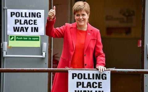 Labour collapse in Scotland fuels SNP to 'best ever' European elections result