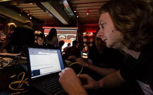 Fighting a cyber war from deep beneath London