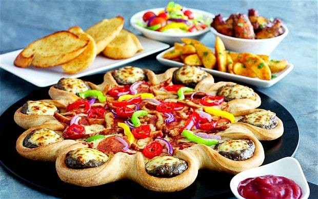 Pizza Hut panned for near 3,000 calorie 'cheeseburger' pizza
