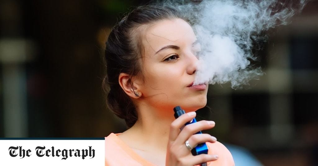 Coronavirus risk five times higher for young vapers, study finds