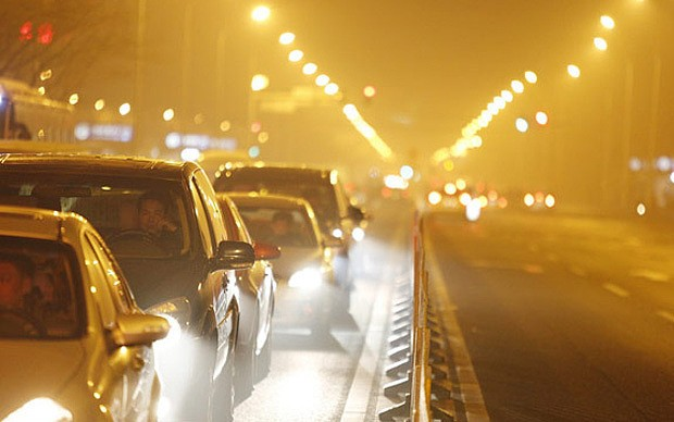 How does London's air pollution compare to other cities?
