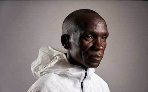 Eliud Kipchoge interview on Nike, Mo Farah and another assault on the London Marathon