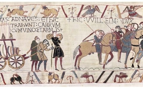 Mystery of why Bayeux Tapestry is so long and thin finally solved