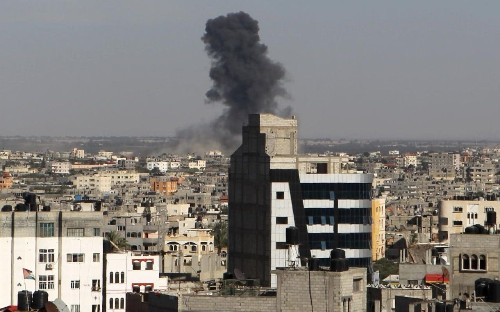 Israel bombs Hamas targets in Gaza in worst violence since war of 2014
