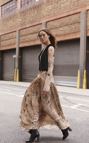 Modern Folklore: Seventies bohemia meets city woman
