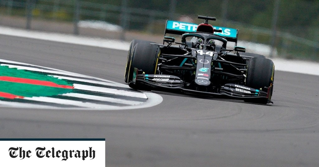 Lewis Hamilton shows Mercedes' utter dominance in 70th Anniversary practice at Silverstone