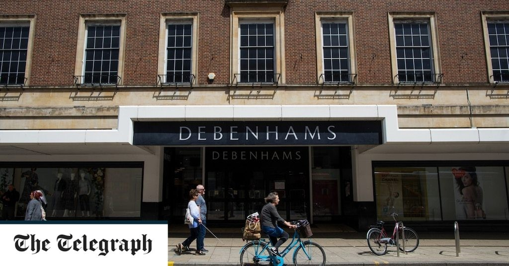 Demise of Debenhams puts future of 60 town centres in jeopardy